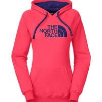The North Face Half Dome Hoodie in Snowcone Red and Garnet Purple for Women CG9J-DFT