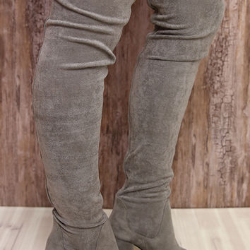 Therapy Shoes - Hanover Boot - Grey