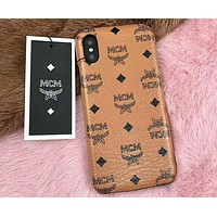 MCM 2018 Trendy Fashion iPhone 6/7/8/X Phone Case Cover F-OF-SJK 5