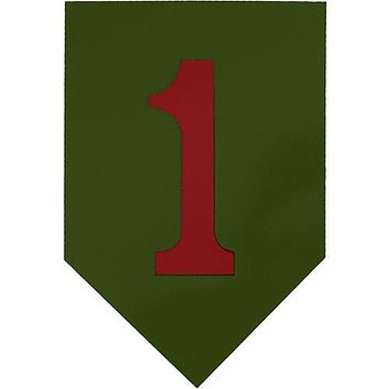Big Red One 1st Infantry Clear Decal