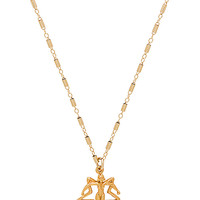 Natalie B Jewelry EmpowHer Necklace in Gold | REVOLVE