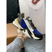 FENDI  Men Fashion Boots fashionable Casual leather Breathable Sneakers Running Shoes0506yph