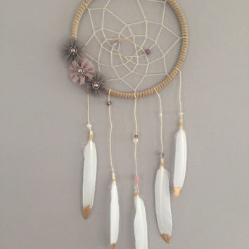 Golden Daze Part Two Boho Dreamcatcher Wall Hanging