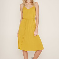 Belted Cutout Cami Dress | Forever 21 - 2000187141