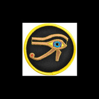 """The Eye of Horus Sew-On Patch 3"""""""