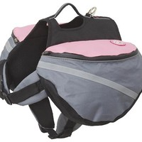 Extreme Outdoor Gear EX Backpack - Pink/Gray