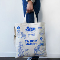 Tabom Market Tote Bag from hhotaru
