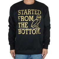 DRAKE Started From The Bottom Crewneck