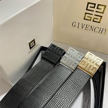 Givenchy pearl buckle belt