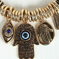 Protection Charms Bracelet