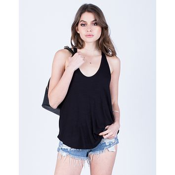 Back Knotted Tank