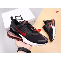 NIKE Air Vapormax 270 Fashion New Hook Print Running Sports Leisure Shoes 5#