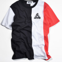 Color black graphic tee