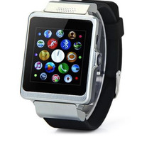 Digital sport watches 2015 New bluetooth smartwatch Upro P6 with mini camera Stopwatch SMS Sim card smartwatch android phone with DHL FREE