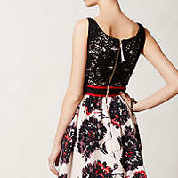 Brushstroke Blossoms Dress