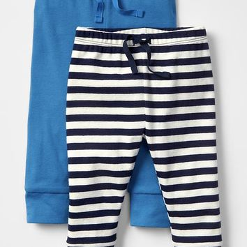 Gap Baby Ribbed Pants 2 Pack