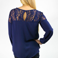 Dress Me in Lace Blouse
