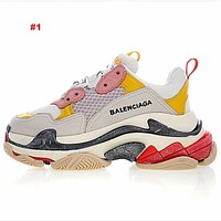 Balenciaga Home sneakers Designer Luxury Men's Dad Retro Trainers?Shoes Sneakers Paris Brand Breathable Shoes With Box