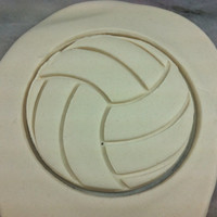 Volleyball Cookie Cutter - CHOOSE Your OWN SIZE - Fast Shipping!