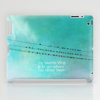 My favorite thing iPad Case by Sylvia Cook Photography