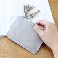Ultra-thin fresh coin bags key bag  5 Colors High Quality Ladies Small Wallet Zipper  Lady Coin purse