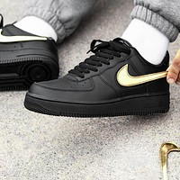 Nike Air Force 1 AF1 Trending Women Men Casual Change Hook Magic Clasp Sports Shoes Sneakers