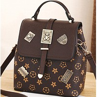 New fashion all-match cross-body dual-purpose shoulder backpack women
