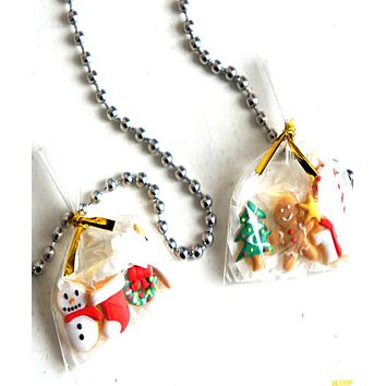 Christmas Cookies Necklace
