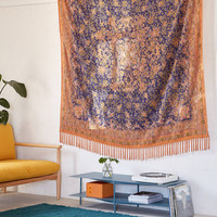 Petra Folk Fringe Tapestry | Urban Outfitters