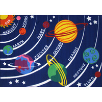 Fun Rugs Fun Time Collection Solar System Area Rug