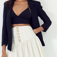 Silence + Noise Cecelia Corset Mini Skirt | Urban Outfitters
