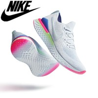 Ready stock Original 100% Nike Epic React Flyknit 2 Running Shoes men and women sneakers