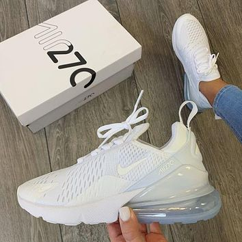 Nike Air Max 270 White Sneaker Shoes