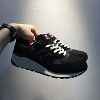 """""""New Balance"""" Fashion Casual All-match N Words Breathable Couple Sneakers Shoes Black(black N) I-A0-HXYDXPF"""