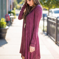 Won't Fade Away Tunic, Wine