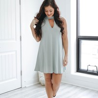 On the Road Dress - Seafoam