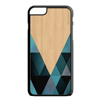 wooden geometric iPhone 6 Case