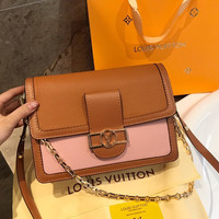 Louis Vuitton LV Leather Crossbody Shoulder bag