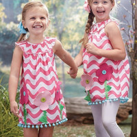 Mud Pie Forest Friends Dress