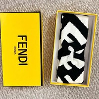 Fendi Fashion New Letter Women Men Cross Sports Leisure Headband Accessories White