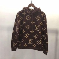Louis Vuitton Women/Men Fashion Pullover Sweater Sweatshirt Hoodie-2
