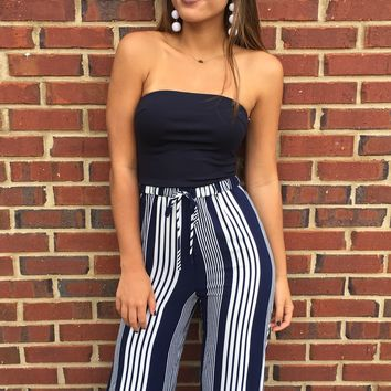 Blue Angel Jumpsuit - Navy