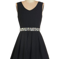 Sleeveless A-line Sophisticated Spirit Dress