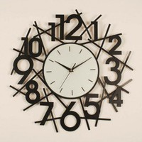 Ashton Sutton Slick Wall Clock - ST3242