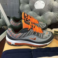 NIKE AIR MAX 98 bullet shoes limited men's shoes running air cushion shoes sneakers F-CSXY