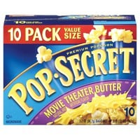 Pop Secret Movie Theater Butter 10ct 32oz : Target