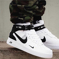 NIKE Air Force 1 AF 1 Casual sports high-top sneakers Fashion low-top men's and women's sports shoes