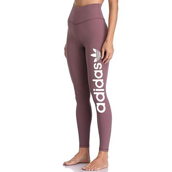 Adidas Exercise Fitness Gym Running Training Leggings