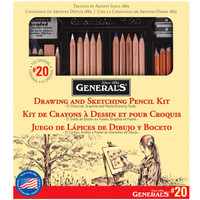 General's® #20 Classic Sketching & Drawing Kit