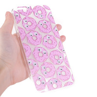 Pink Donuts iPhone Case